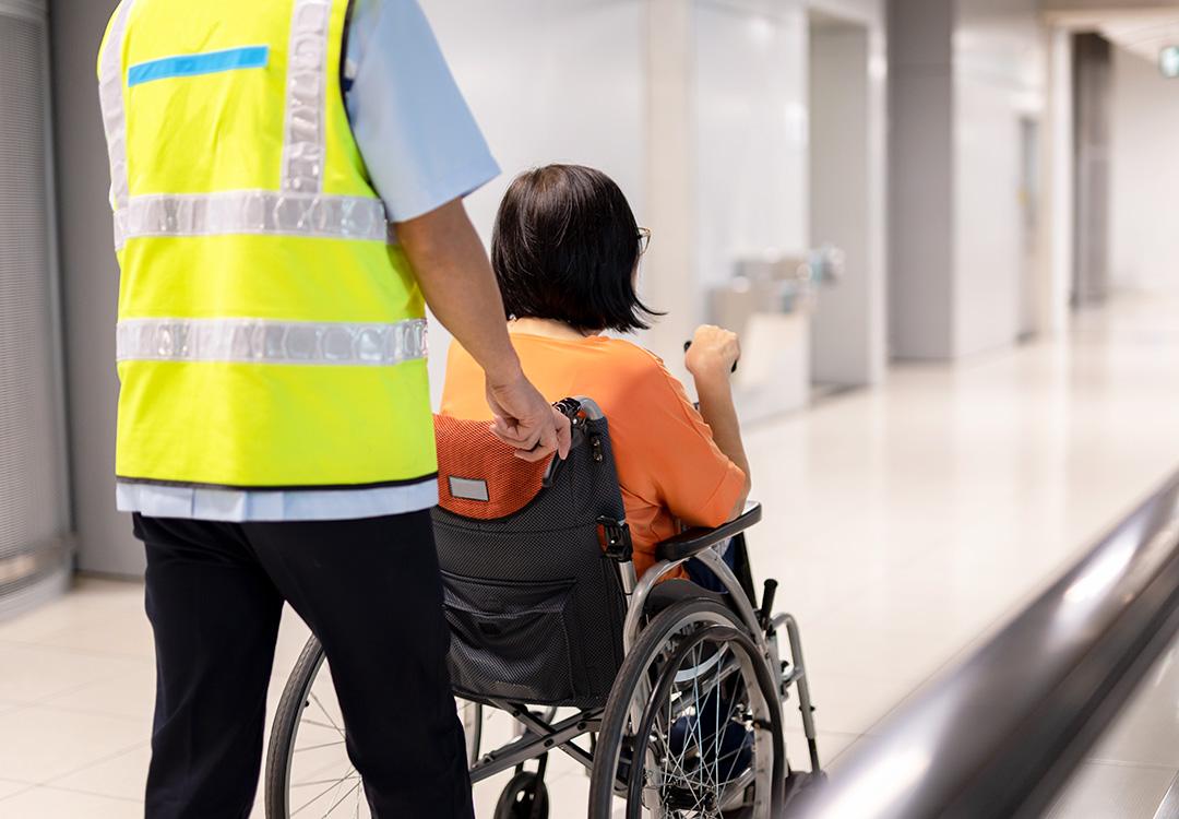 Diritti dei passeggeri disabili per i viaggi in aereo